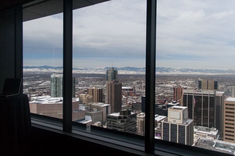 TraceGains Customer Conference view of Denver