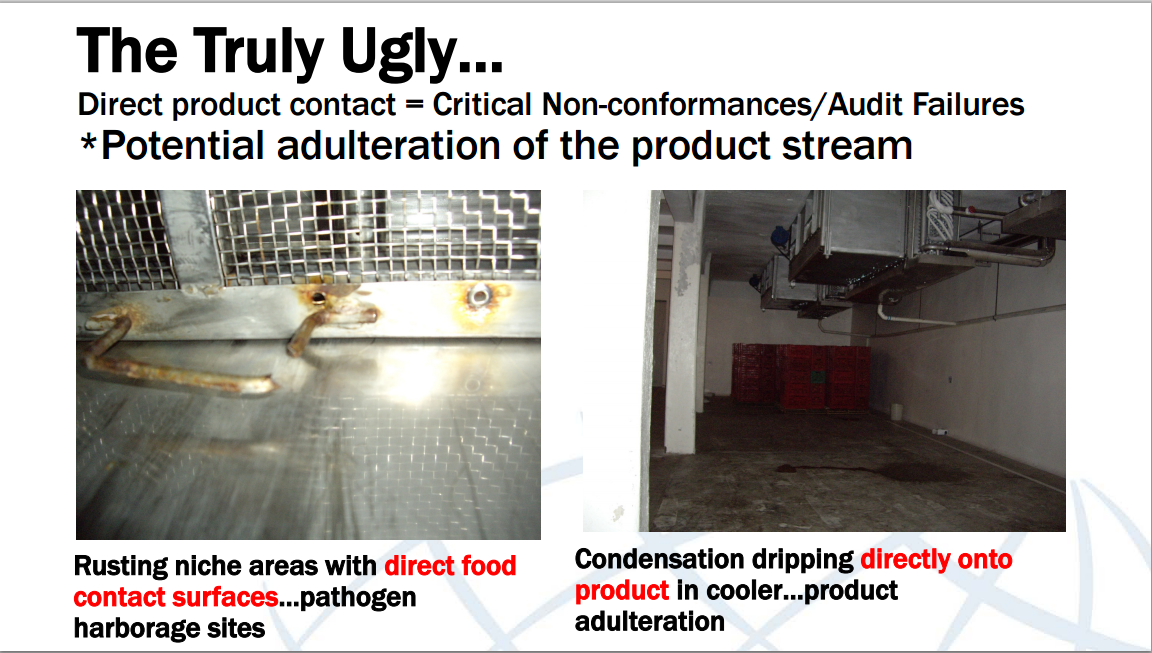 The Ugly when it comes to food safety audits
