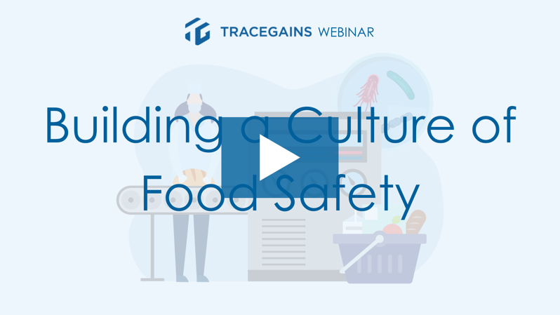 Building a culture of food safety