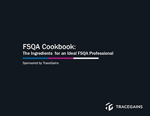 Food Safety and Quality Assurance Professionals Cookbook