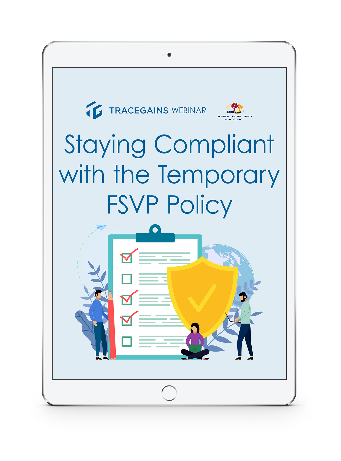 TraceGains Webinar: Staying Compliant with the Temporary FSVP Policy