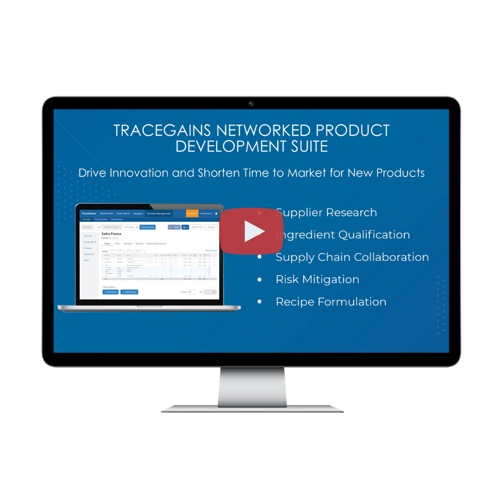 TraceGains Video: Networked Product Development Suite