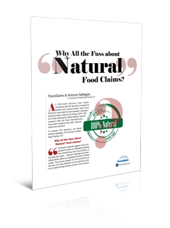 Image of the Natural Labeling Guidance Report