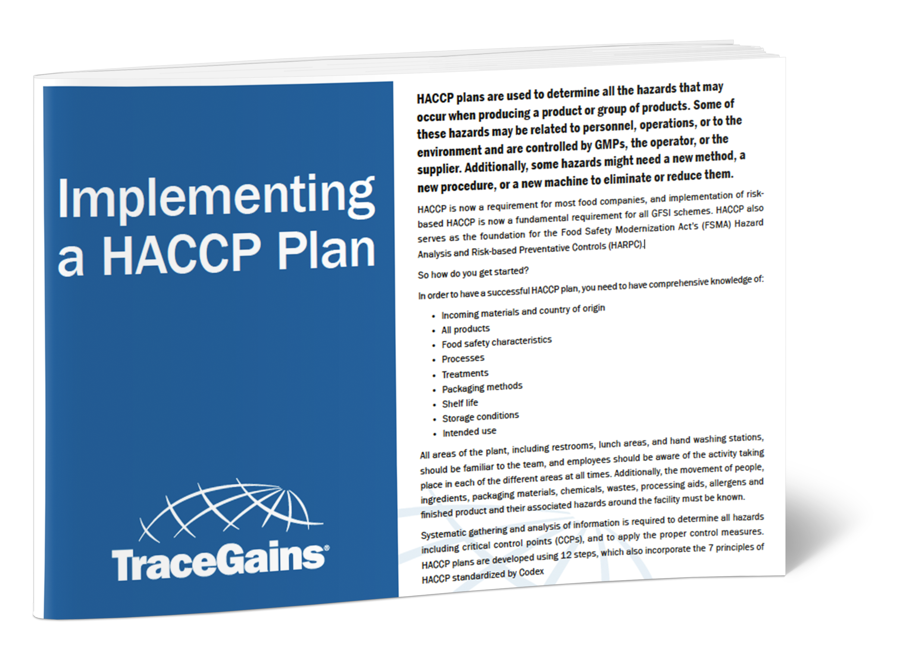Implementing a HACCP Plan