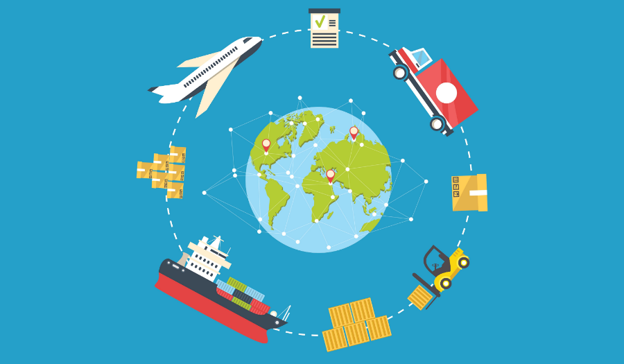 international trade and shipping
