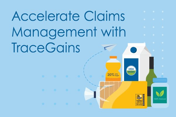 Accelerate Claims Management with TraceGains Data Sheet