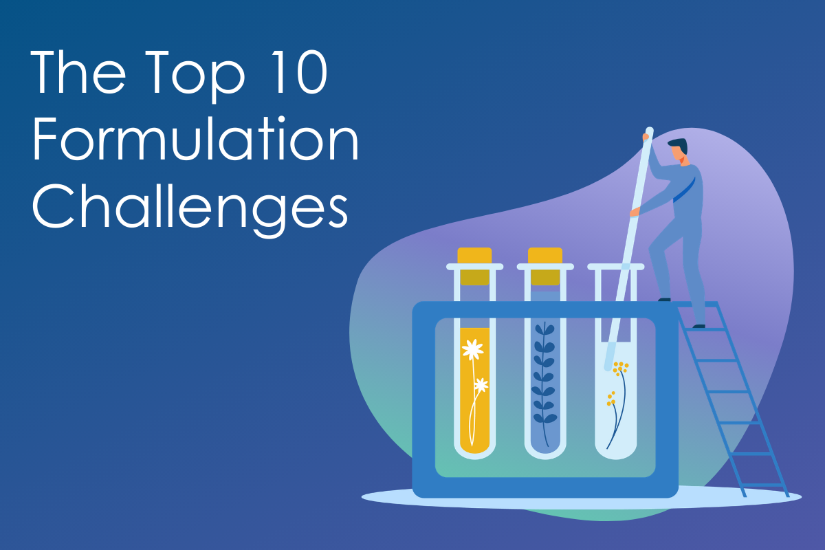 The Top 10 Formulation Challenges Data Sheet