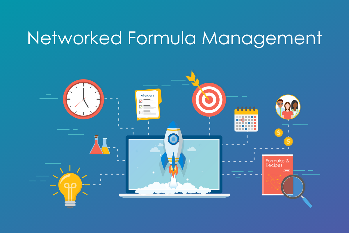 Networked Formula Management Infographic